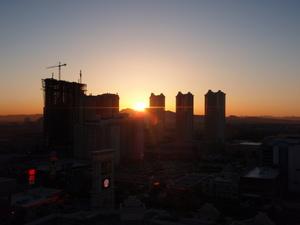 ラスベガス(2008)の最後の朝
