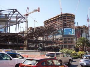 シティセンター建設中