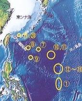 鉄幹漱石海山位置図