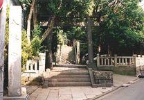 08 中村八幡宮1(地理寮水準点)