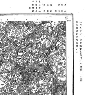 旧版地形図T8