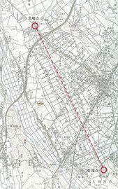 15 観象台・地図
