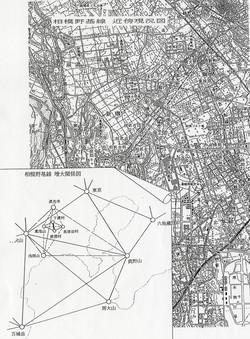 相模野基線・地図