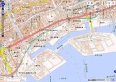 HAT周辺「神戸首部」範囲H26年1月地理院地図