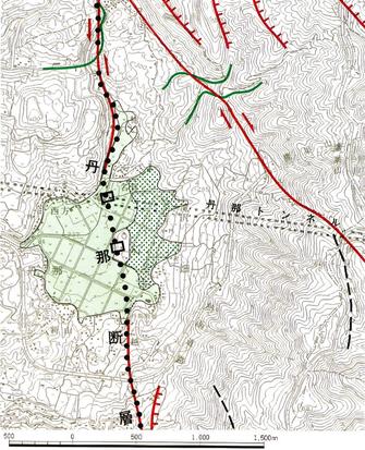 地図の散歩道:丹那トンネル