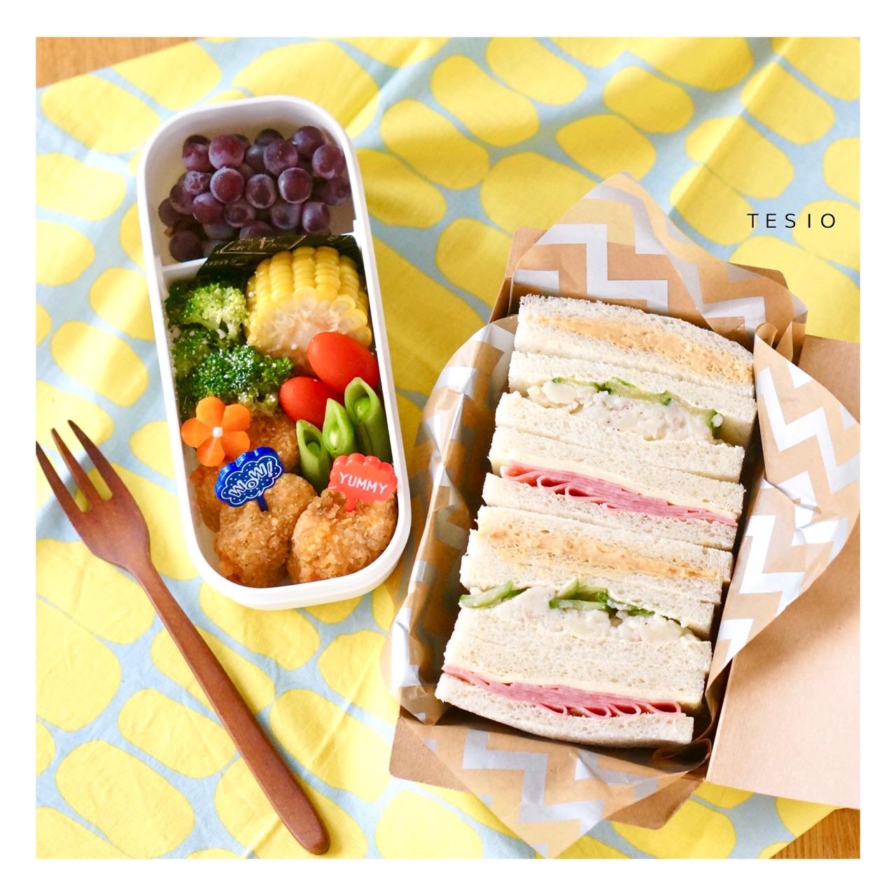 弁当 サンドイッチ セリアのサンドイッチケースが大人気!種類や活用法をご紹介