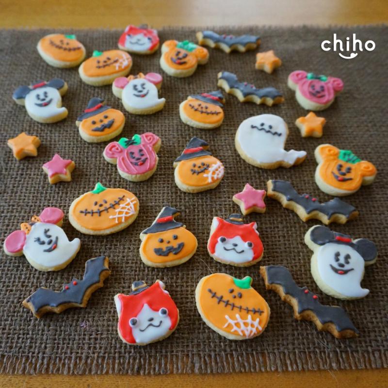 ハロウィン_アイシングクッキー