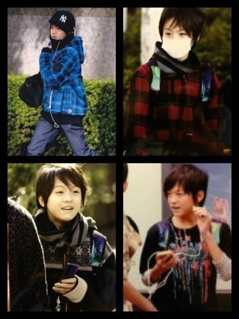 松島聡の私服