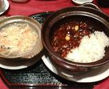 銀座 維新號 いしんごう 新館 ランチ 干し豆腐ヘルシー鍋と麻婆茄子