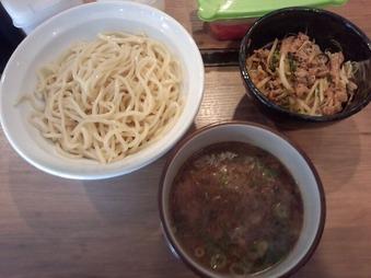 新橋 ヒノマル食堂つけ麺なおじ 濃厚つけ麺・焼肉丼セット