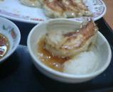 新橋 餃子の王将 おろし餃子定食