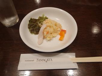 銀座YAMAGATA 銀座やまがた ランチ ポテサラ