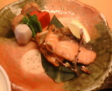 銀座大野 限定 チャリティランチ 焼き魚