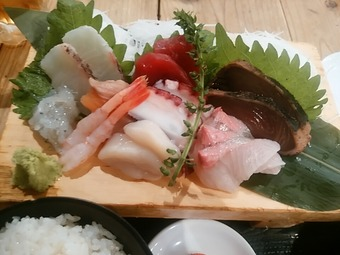 有楽町銀座 魚○本店 魚丸 ランチ 刺身定食