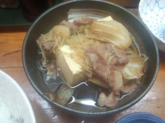 新橋 菊三八 きくみや ランチ 肉豆腐