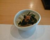 銀座 鮨 いつき ランチ サラダ