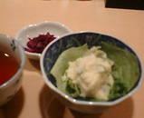 新橋 鳥敬 ランチ 焼き鳥丼 サラダ