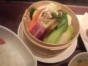 銀座 masuichi ますいち 升一 ランチ 野菜蒸し