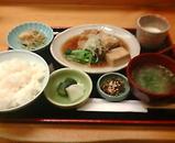 銀座 熊澤 ランチ 煮魚 カレイ煮