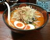 新橋 丸富 九州麦味噌使用 ピリ辛味噌ラーメン