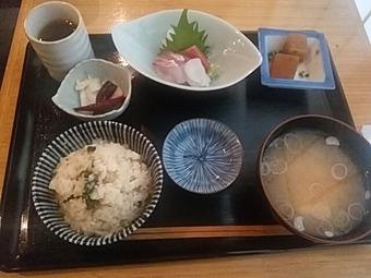 新橋 酒肴晴 しゅこうばる ランチ 炊込みご飯定食