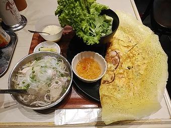 バインセオ サイゴン 有楽町店 ランチ ニミフォーセット