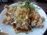 新橋 南洲 ランチ 鶏一枚揚げ定食