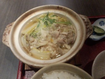 銀座 花大根 ランチ 豚肉と野菜のゆず塩麹鍋御膳