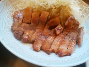 銀座 とん喜 ランチ 特製しょうが焼定食