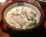 銀座 旬菜 青山 ランチ 牡蠣雑炊