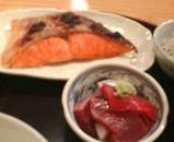 新橋 舞浜 ランチ 鮭焼