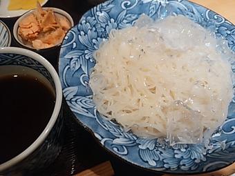 新橋 志ん橋 ひでや ランチ そうめん 素麺定食(夏季)
