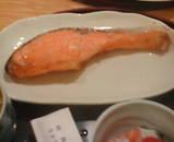 新橋 舞浜 ランチ 鮭焼き