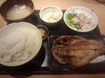 銀座 魚然 焼き魚ランチ