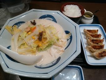 リンガーハット 銀座店 白菜ちゃんぽん 冬季限定