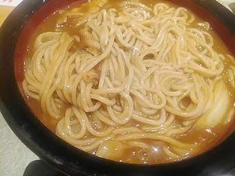 銀座 八伍汁五 はちごじゅうご ランチ カレーそば カレー蕎麦