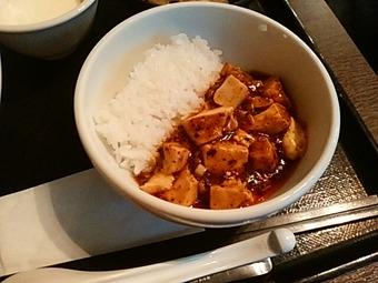 浜松町 大天門 ランチ 坦々麺セット マーボ豆腐丼