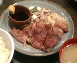 新橋 威風 ランチ 炭火焼き桃豚ステーキ