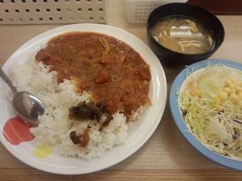 松屋 トマトカレー