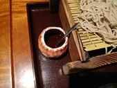 新橋 旧月 ランチ 肉つけ蕎麦とまぐろ丼 薬味