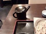 新橋 寿毛半 すけはん 武蔵野うどん つけ汁かも南蛮 薄め汁