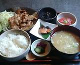 新橋 南洲 ランチ 黒豚生姜焼き