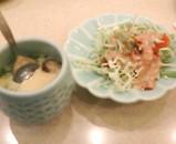 築地すし好 新橋店 茶碗蒸 ランチ ちらし寿司