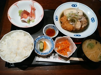 越州 新橋店 ランチ 季節の煮物膳