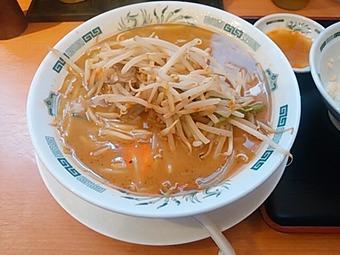 新橋 日高屋 味噌ラーメン