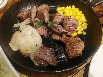 神田の肉バル RUMP CAP 新橋店 ランチMIXステーキ 限定10