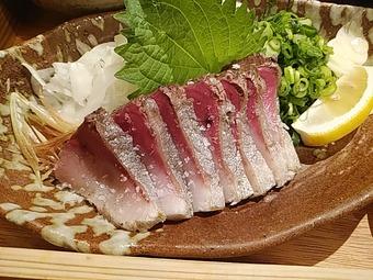 GEMS新橋 土佐清水ワールド新橋店ランチ 宿毛ぶりの藁焼き定食