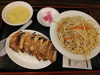 浜松町 ミンミン みんみん �� ランチ 焼きそば&餃子セット