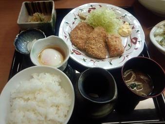 銀座 おうち ランチ ヒレカツとチーズベーコン定食
