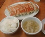汐留 紅虎餃子房 ランチ 大餃子定食